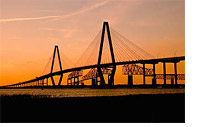 Ravenel Jr Bridge in Charleston, SC